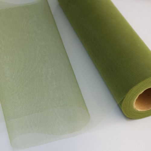 "Tulle Roll | Olive Green 12"" Tulle"
